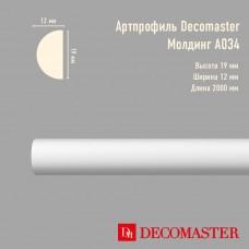 Плинтус Decomaster Артпрофиль A034