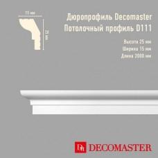 Плинтус Decomaster дюропрофиль D111
