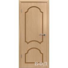 Двери Владимирские Кристалл ПГ светлый дуб