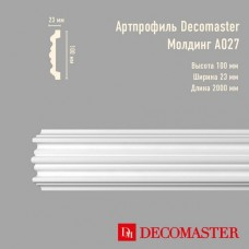 Плинтус Decomaster Артпрофиль A027