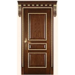 Двери Дариано Чикаго-D ПГ красное дерево,золото