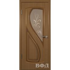 Двери Владимирские Грация ПО орех