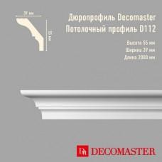 Плинтус Decomaster дюропрофиль D112