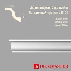 Плинтус Decomaster дюропрофиль D108