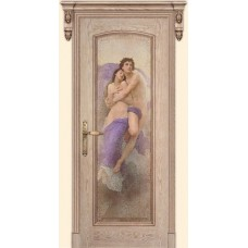 Двери Дариано Селена ПГ фреска Похищение ясень карамель