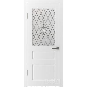 Двери Владимирские Честер ПО белая эмаль