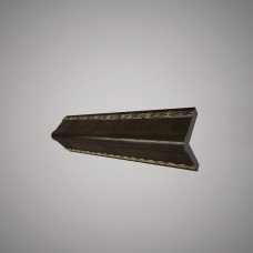 Плинтус Decomaster цвет Темн. шоколад 142-1(2)