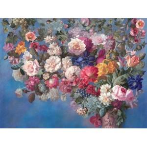 Панно и Фотообои Affresco Still Life with Flowers Color 3