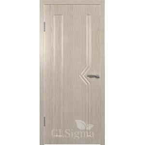 Дверь GLSigma 61 Беленый дуб