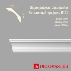 Плинтус Decomaster дюропрофиль D100