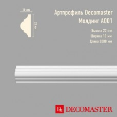 Плинтус Decomaster Артпрофиль A001