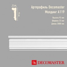 Плинтус Decomaster Артпрофиль A119