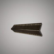 Плинтус Decomaster цвет Темн. шоколад 140-1(2)