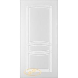 Двери Ковров Классика ПГ белая эмаль
