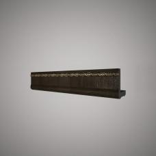 Плинтус Decomaster цвет Темн. шоколад 140-1