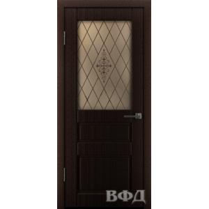 Двери Владимирские Честер ПО темный венге