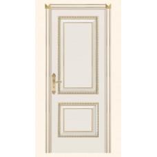 Двери Дариано Турин-D ПГ Эмаль белая,золото