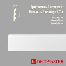 Плинтус Decomaster Артпрофиль A016