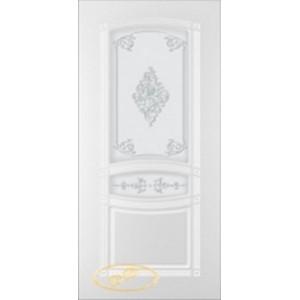 Двери Ковров Классика ПО белая эмаль
