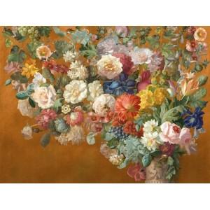 Панно и Фотообои Affresco Still Life with Flowers Color 4