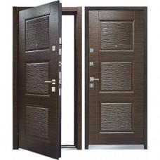 Дверь LINE 3 Темный венге