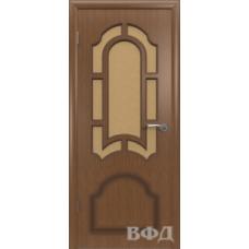 Двери Владимирские Кристалл ПО орех