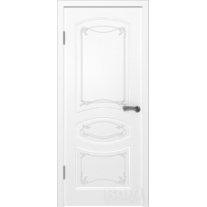 Двери Владимирские Версаль ПГ белая эмаль
