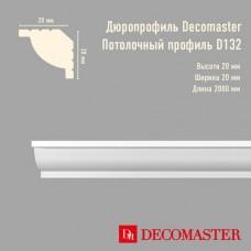 Плинтус Decomaster дюропрофиль D132