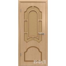 Двери Владимирские Кристалл ПО светлый дуб